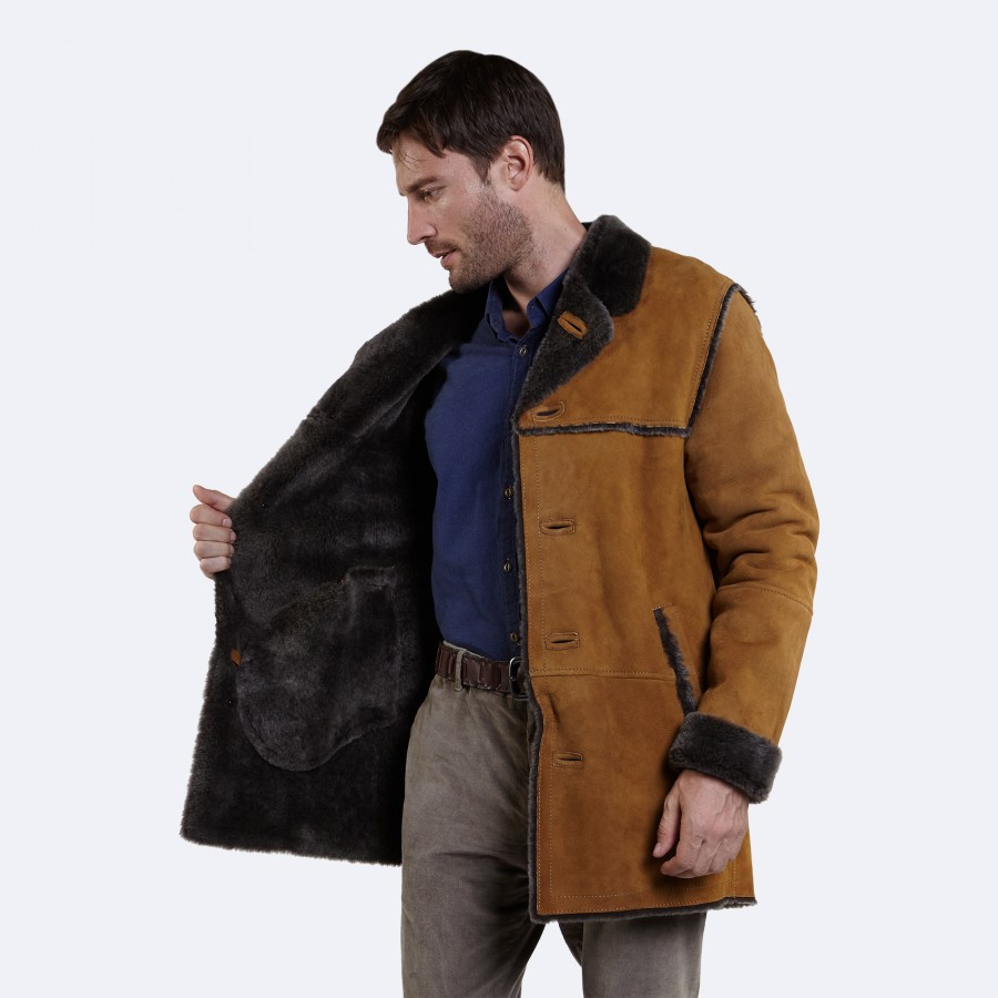 Alex Sheepskin Coat