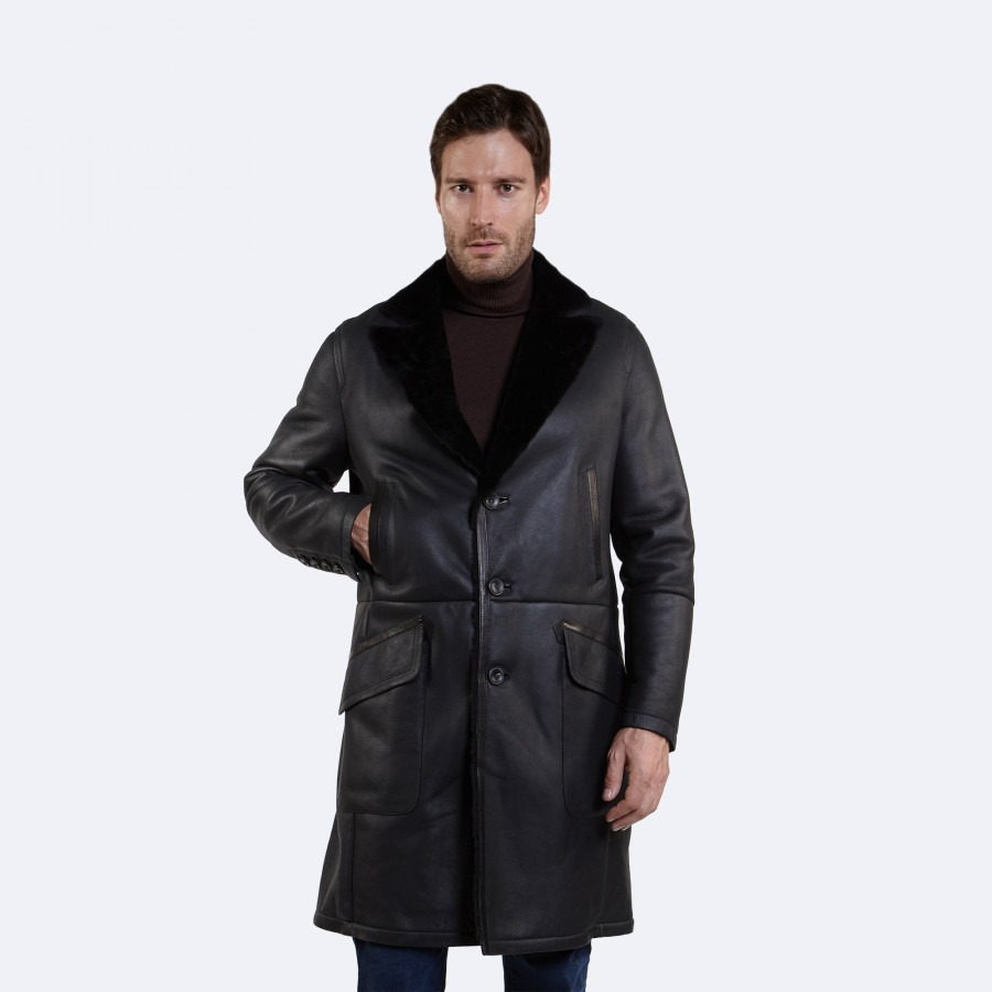Scott Sheepskin Coat