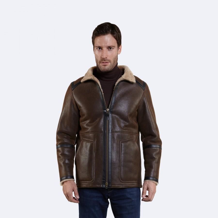 Leopold Sheepskin Coat