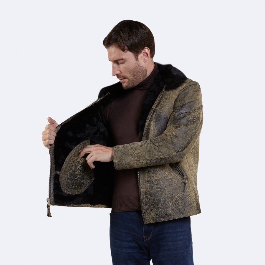 Gilbert Sheepskin Coat