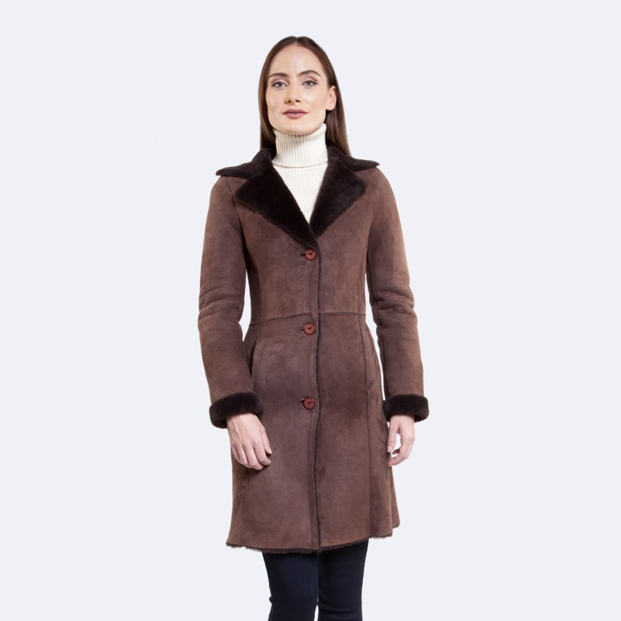 Valentina Sheepskin Coat