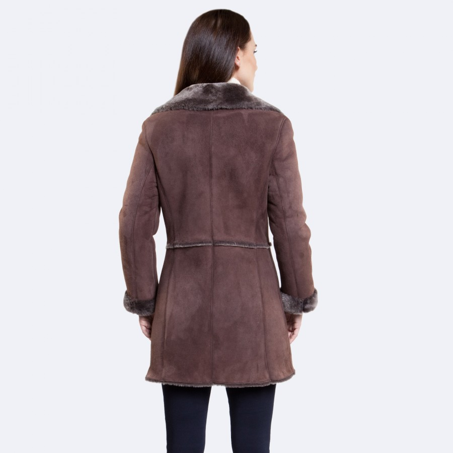 Linden Sheepskin Coat