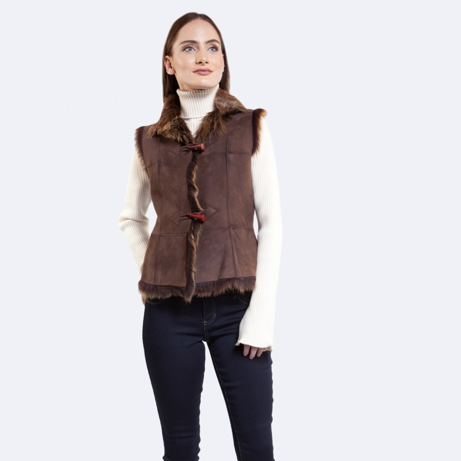 Willow Sheepskin Toscana Vest