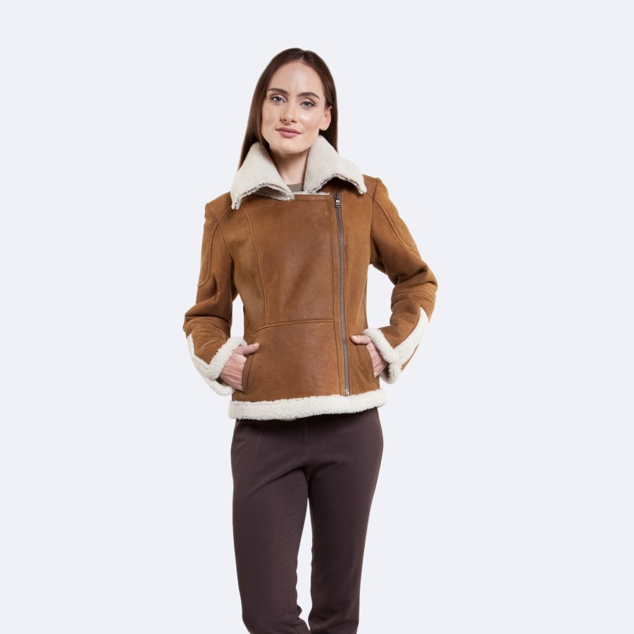 Nora Sheepskin Jacket