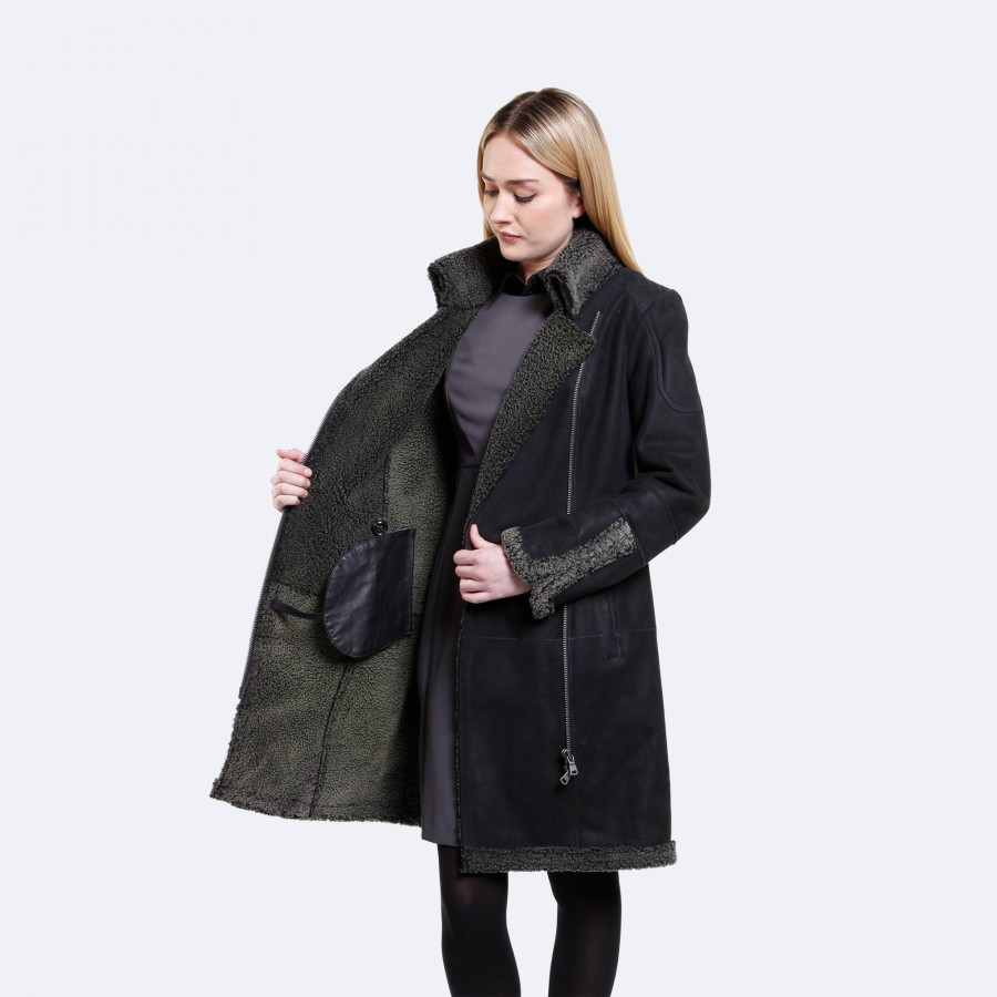 Hailey Sheepskin Coat