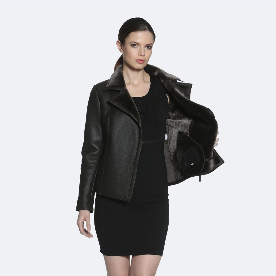 Daphne Sheepskin Jacket