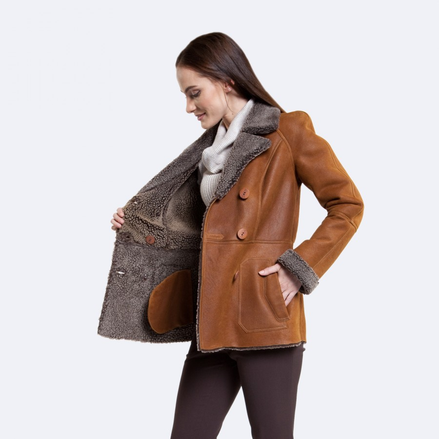 Brooke Sheepskin Jacket
