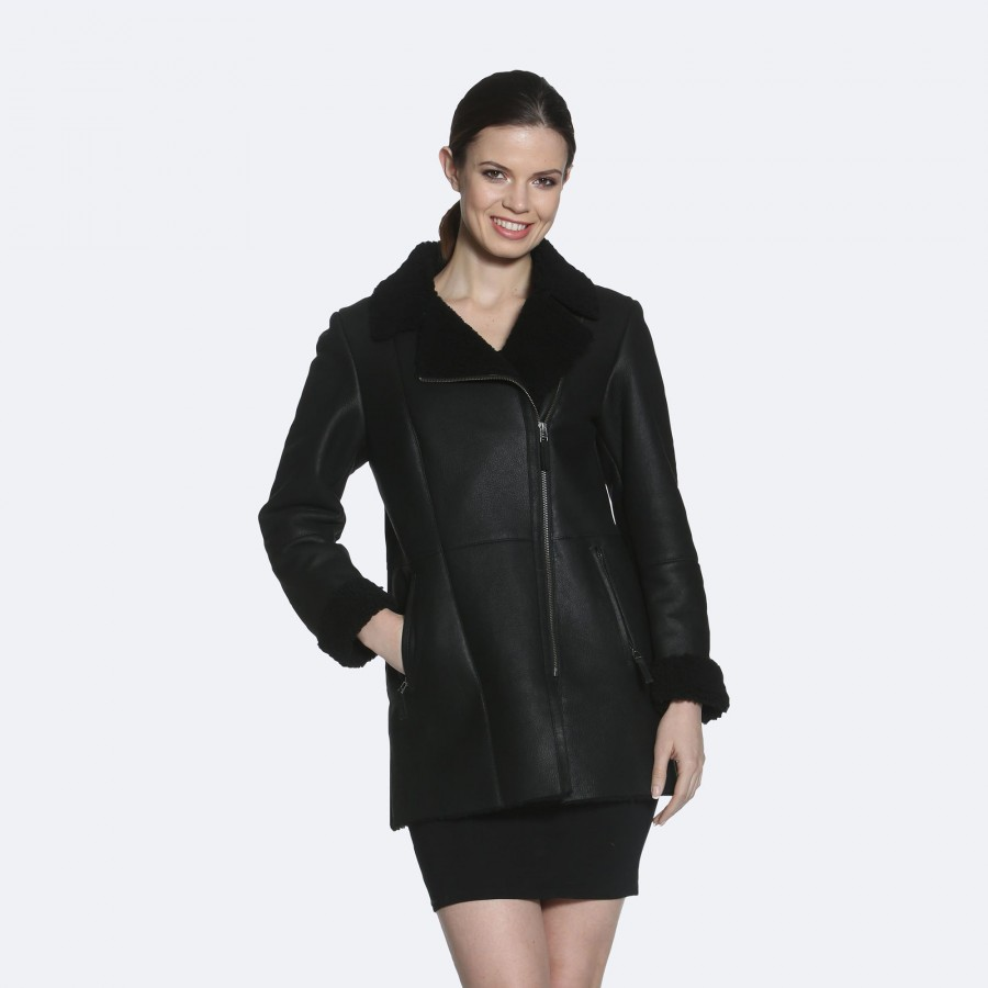 Diane Sheepskin Coat