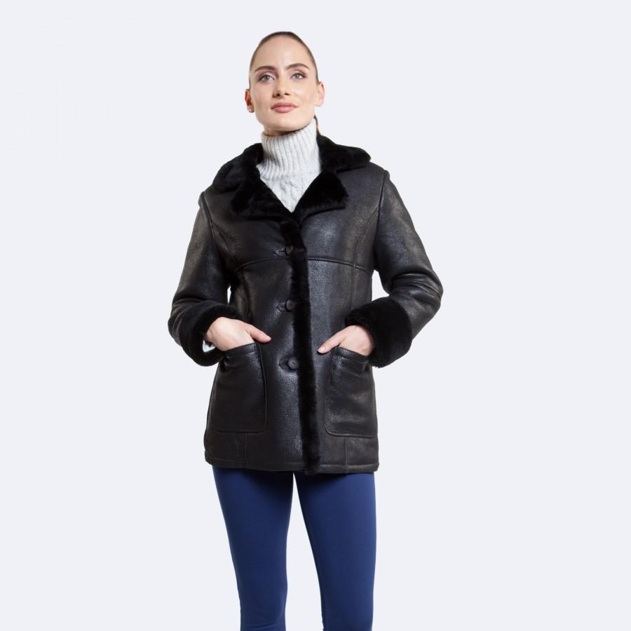 Elena Sheepskin Jacket