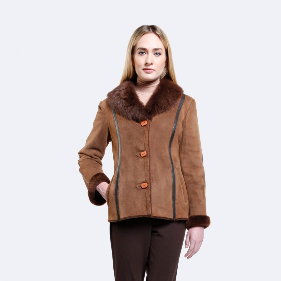 Penelope Sheepskin Coat
