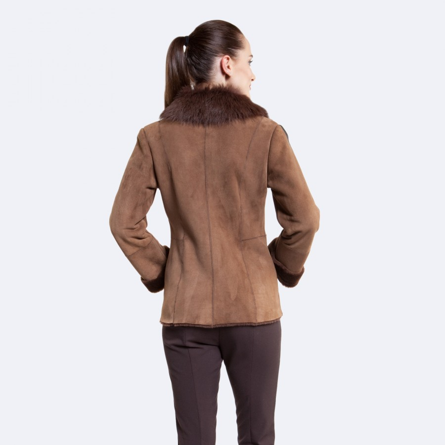 Hilary Sheepskin Jacket