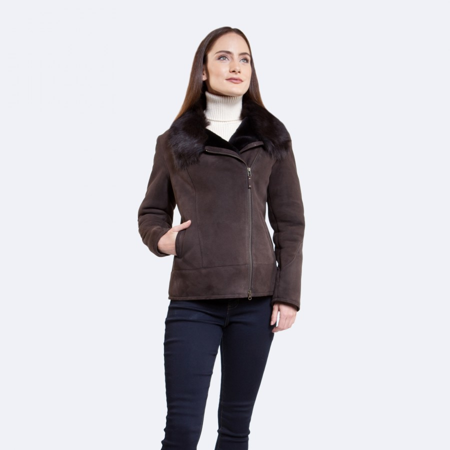 Ginger Sheepskin Jacket