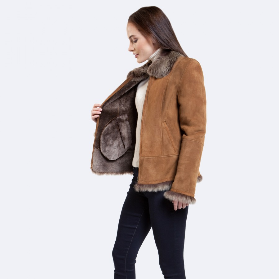 Anna Sheepskin Jacket
