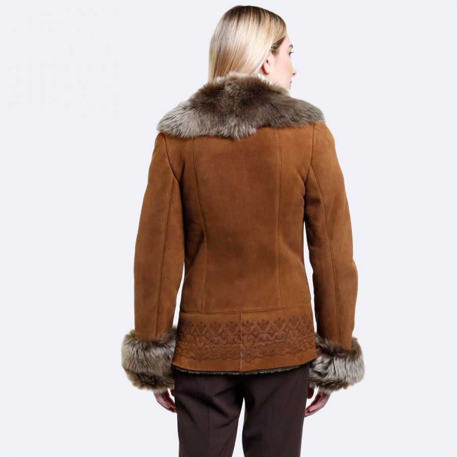 Madelyn Sheepskin Jacket