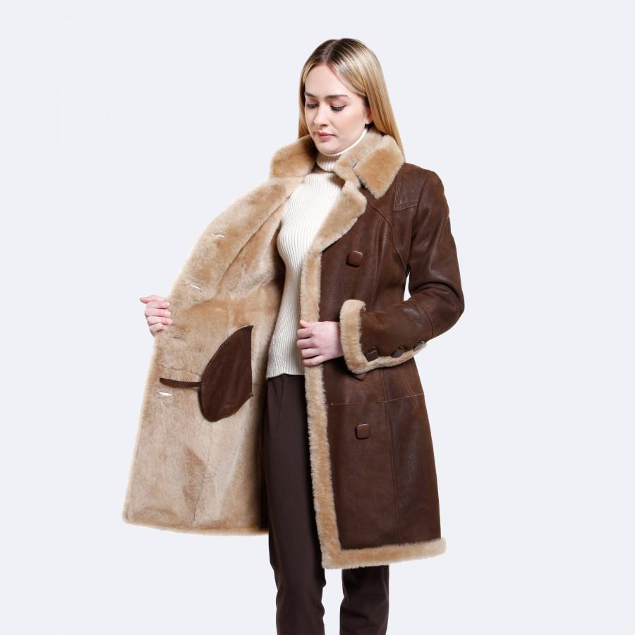 Josephine Sheepskin Coat