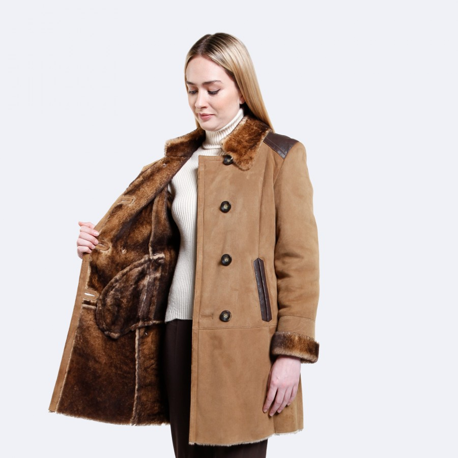 Brooklyn Sheepskin Coat