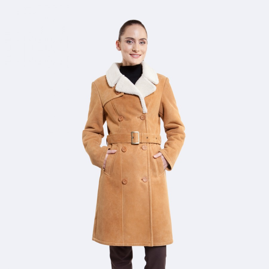 Alexa Sheepskin Jacket