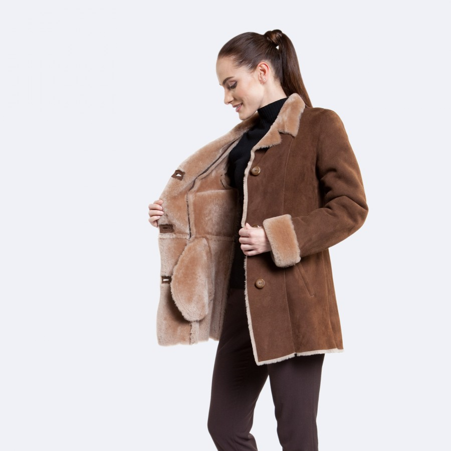 Claire Sheepskin Jacket