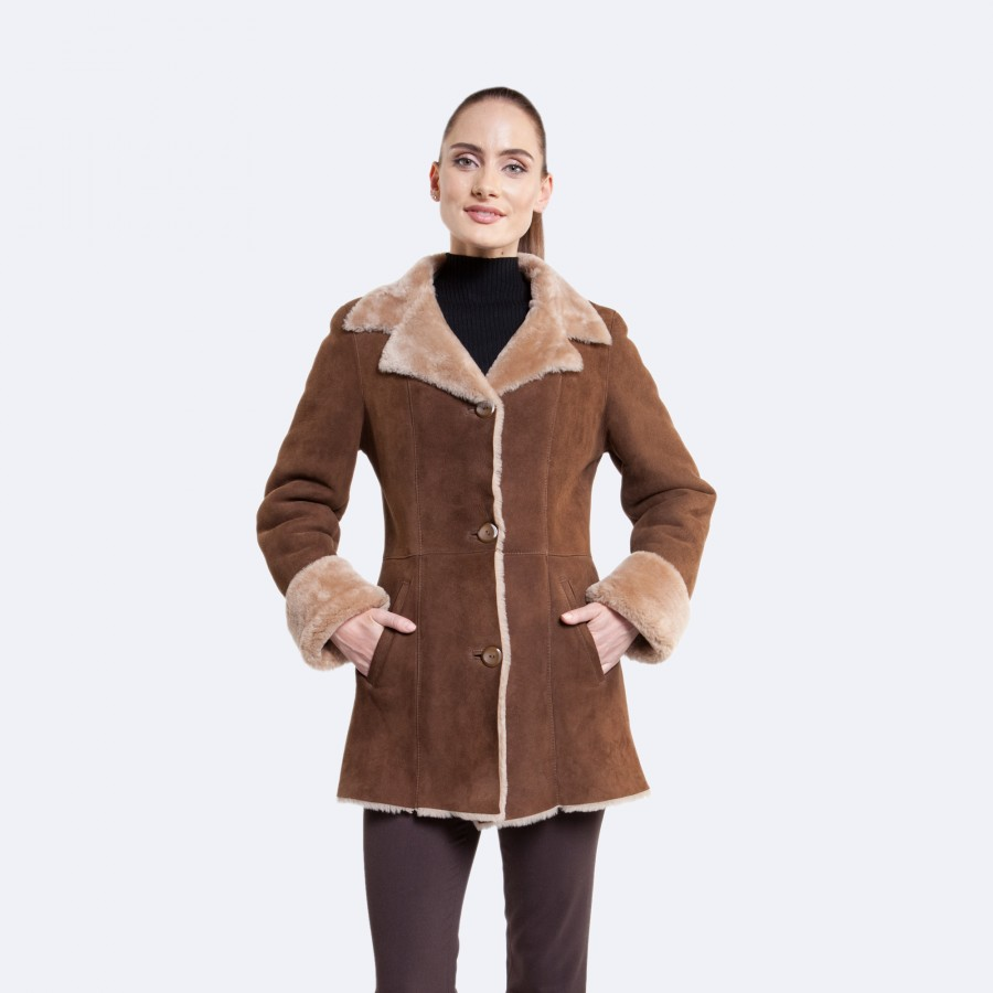 Claire Sheepskin Jacket