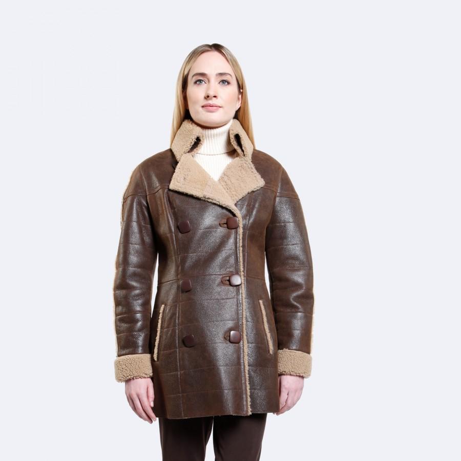 Sophie Sheepskin Coat