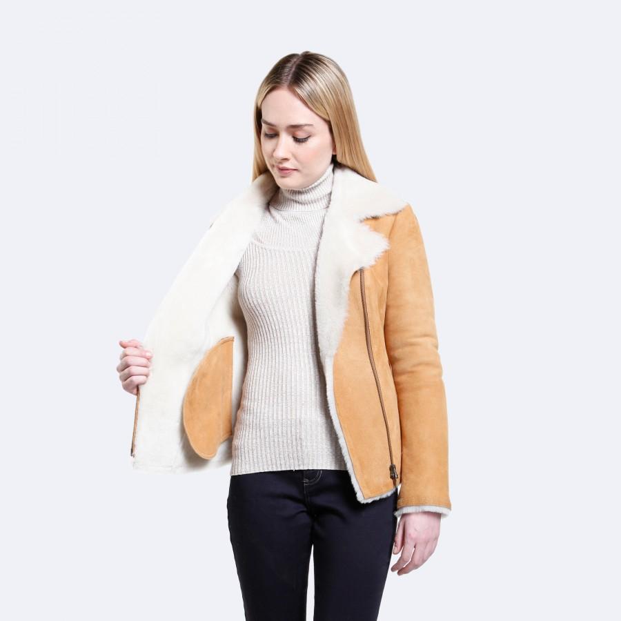 Cheryl Sheepskin Jacket