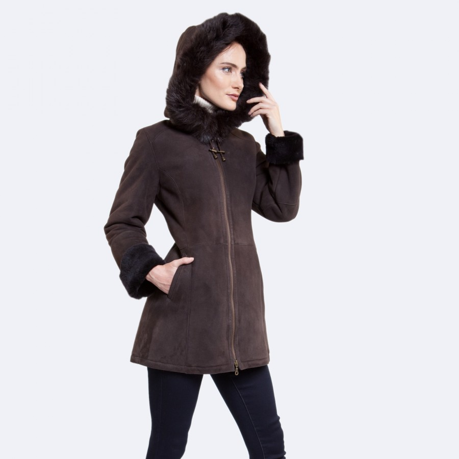 Stacy Sheepskin Coat