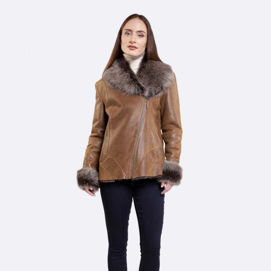Judy Sheepskin Jacket