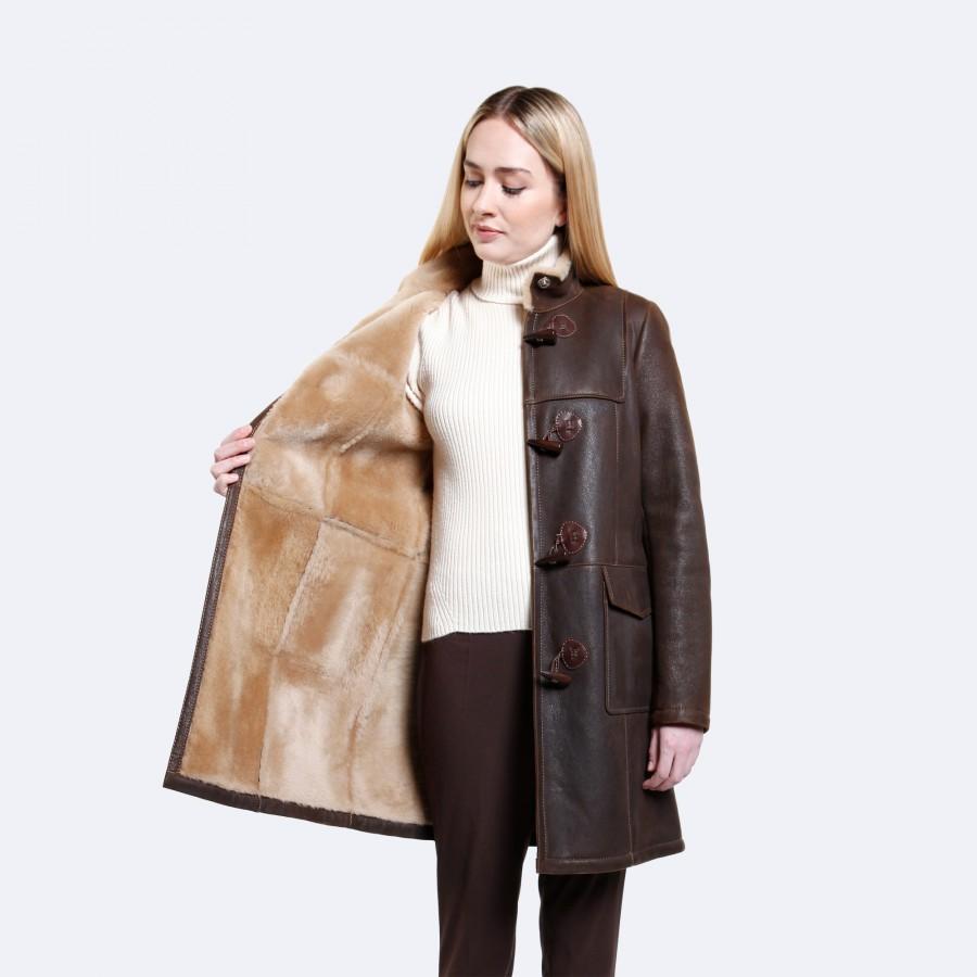 Olivia Sheepskin Coat