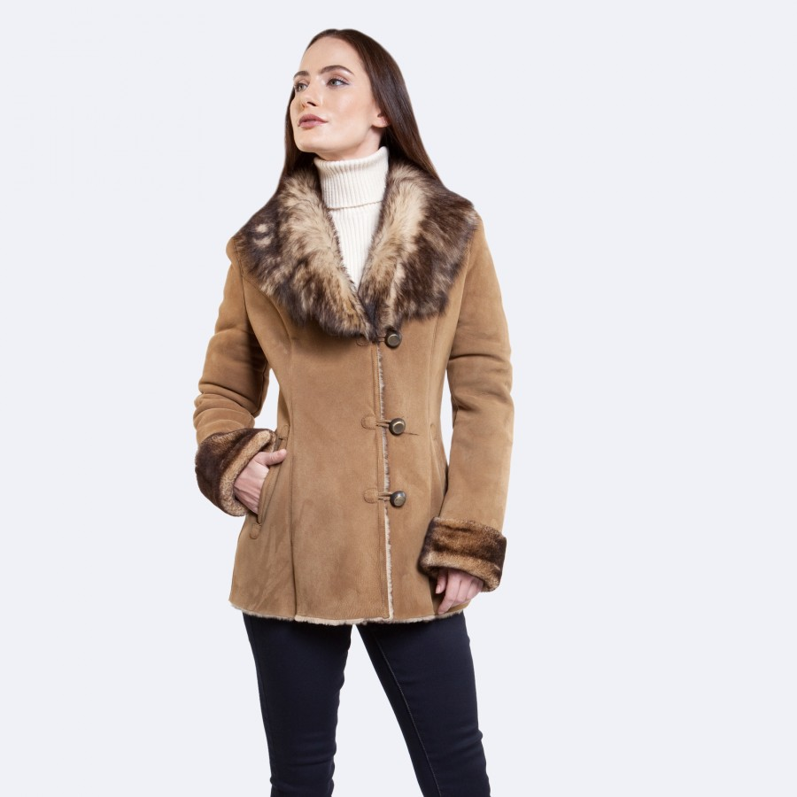 Everly Sheepskin Coat