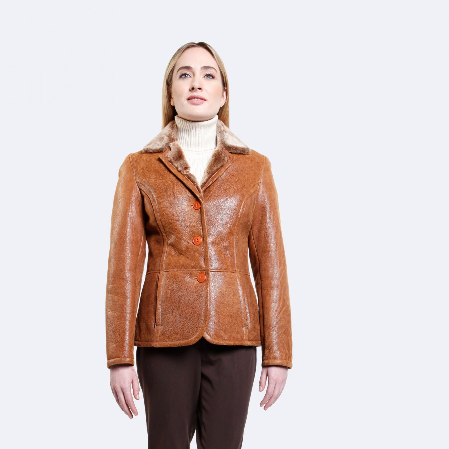 Emelia Sheepskin Jacket