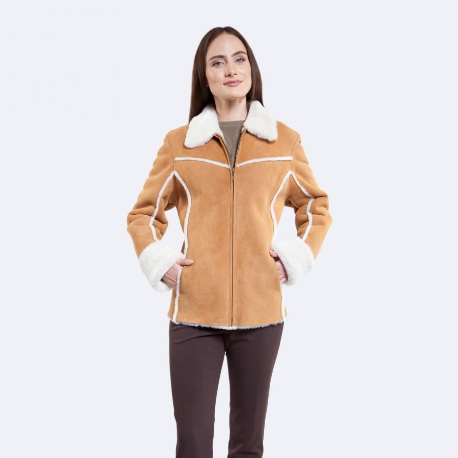 Karen Sheepskin Jacket
