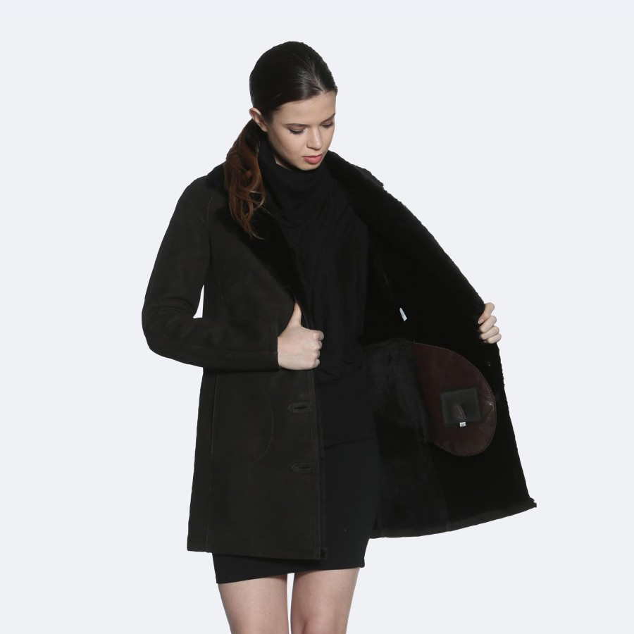 Leslie Sheepskin Coat