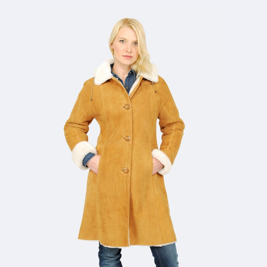 Lucille Sheepskin Coat