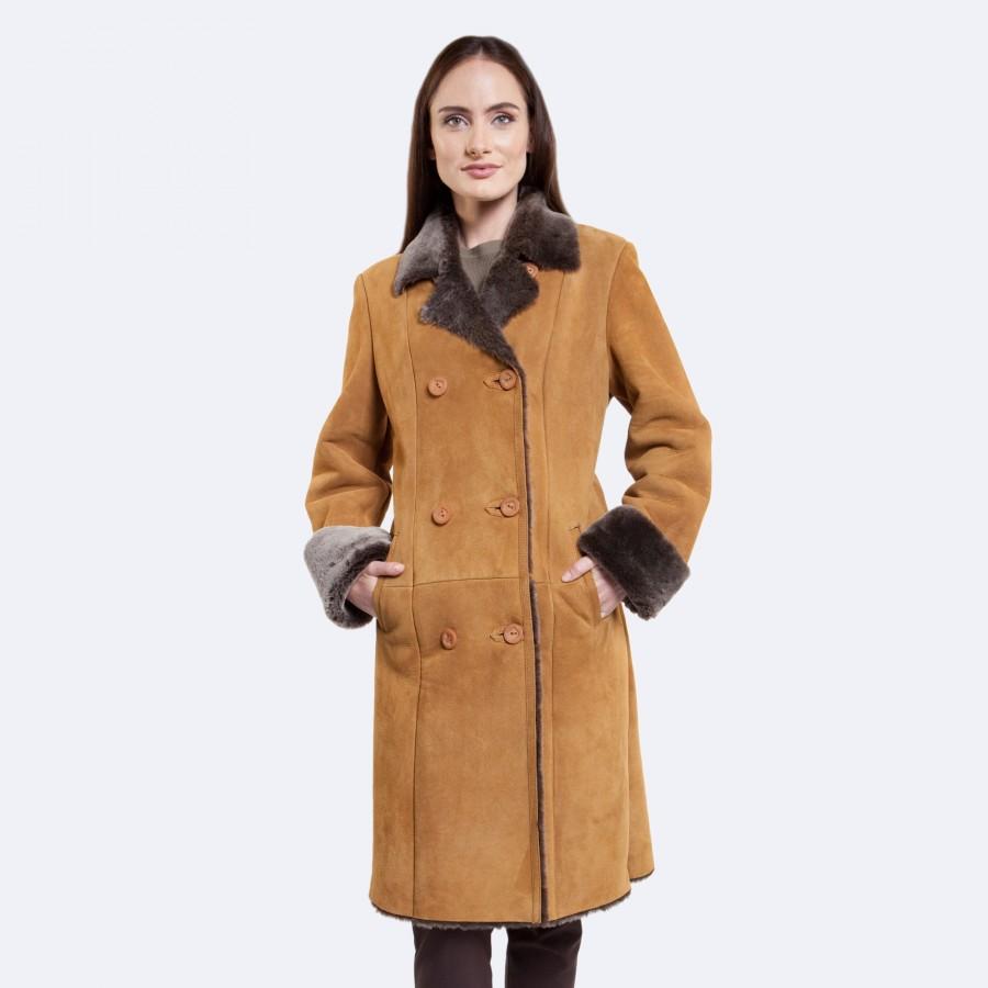 Sarah Sheepskin Coat