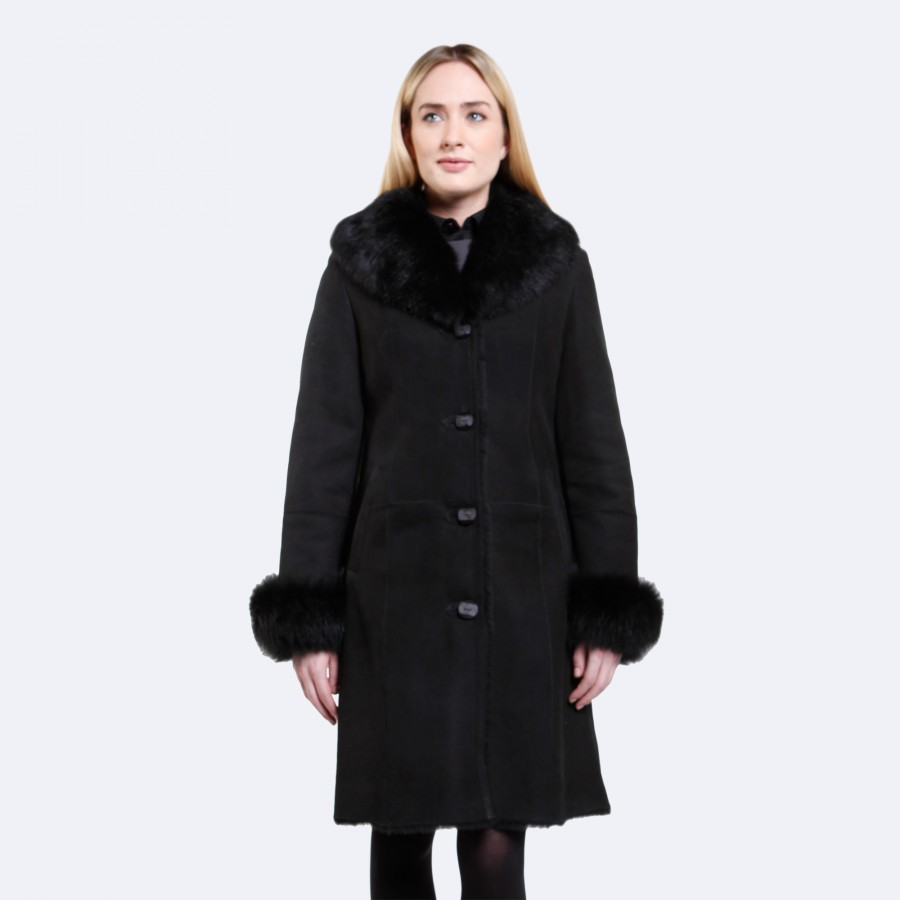 Elizabeth Sheepskin Coat