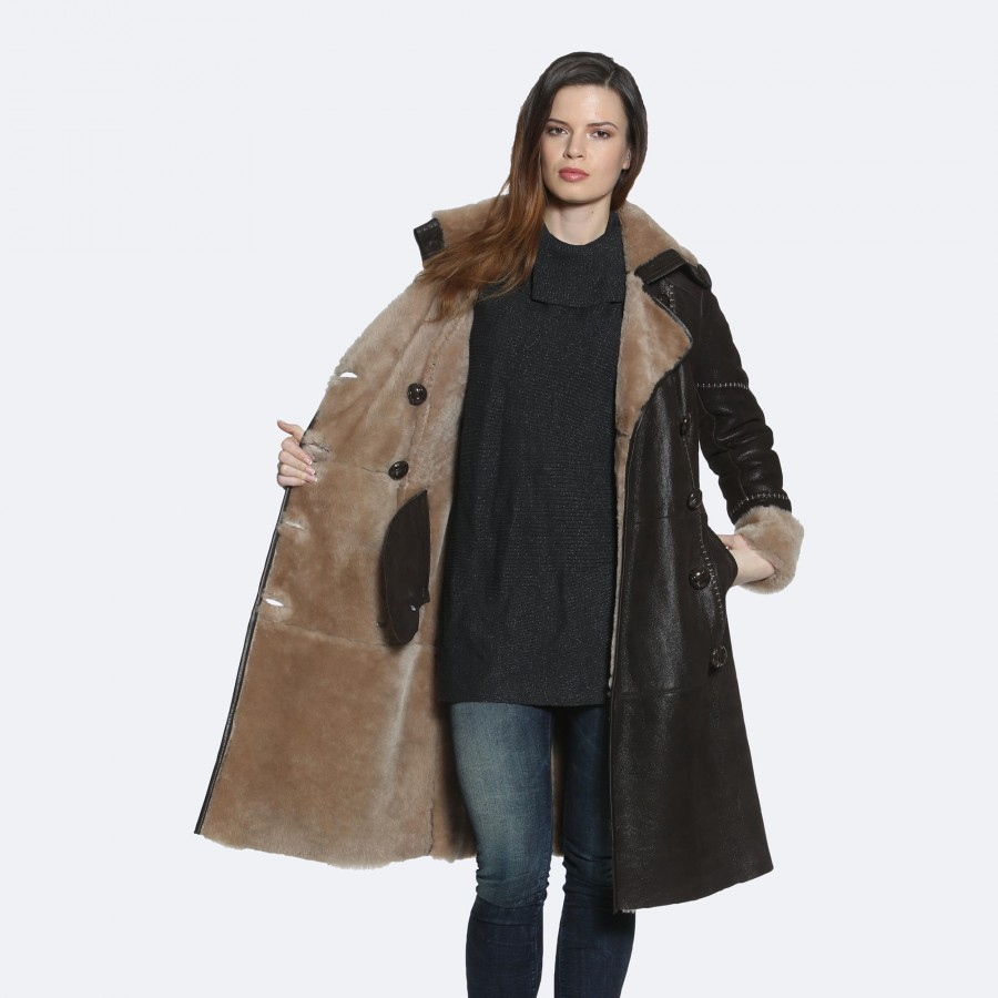 Pam Sheepskin Coat