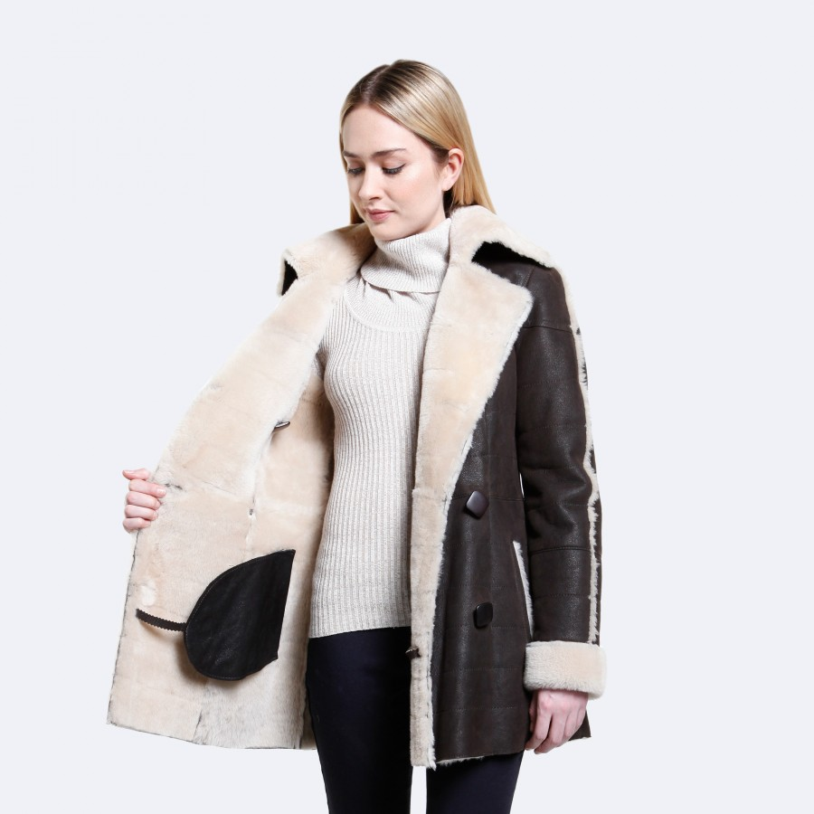 Skylar Sheepskin Coat