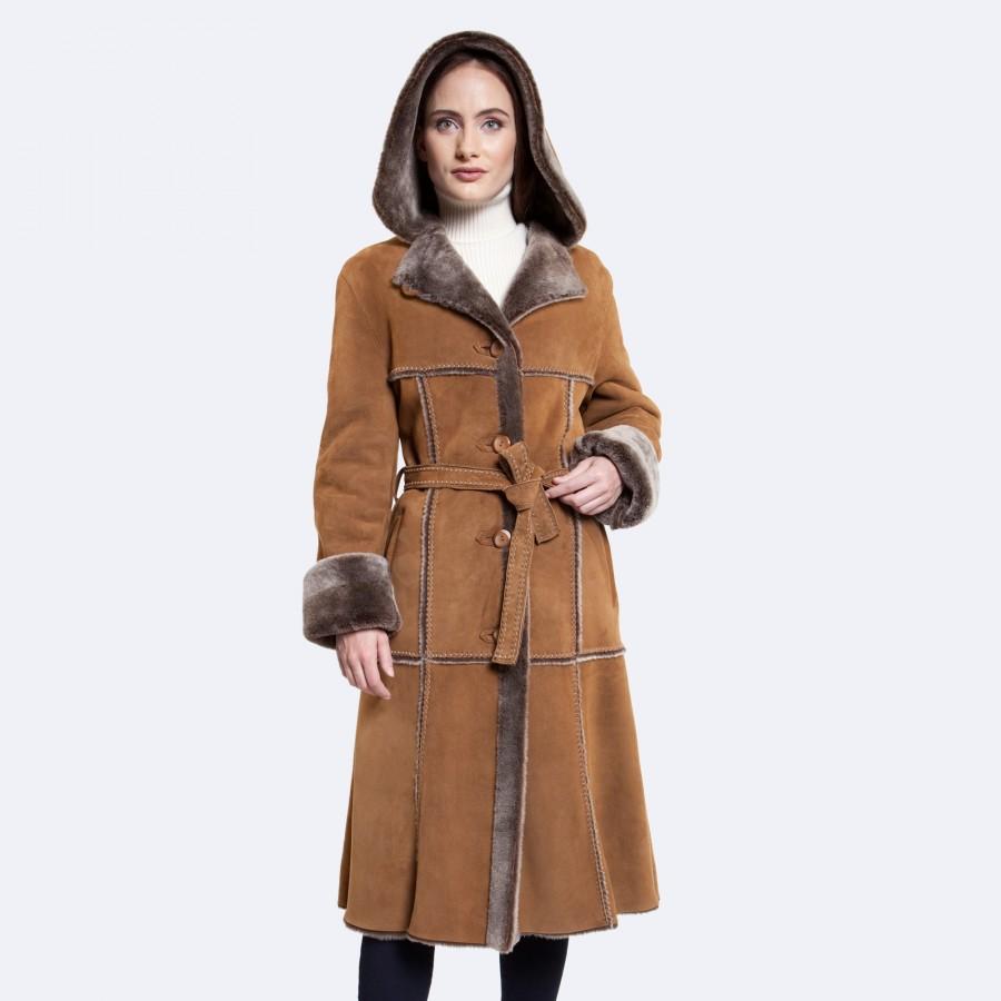 Eliana Sheepskin Coat