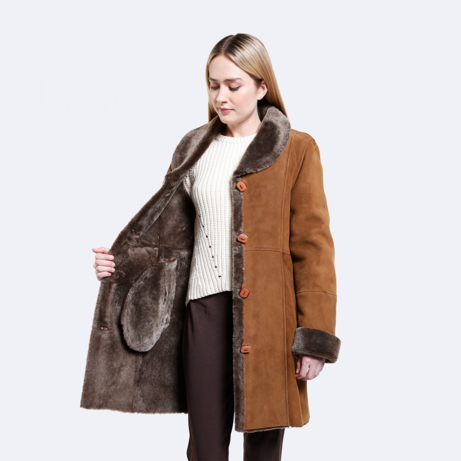 Riley Sheepskin Coat